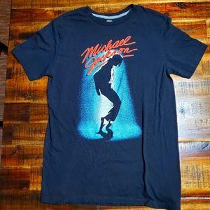 Michael Jackson Moonwalk Tshirt - Small